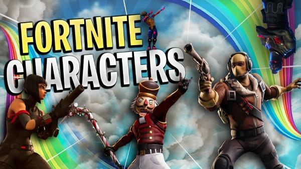 Fortnite Characters (5+ Characters)