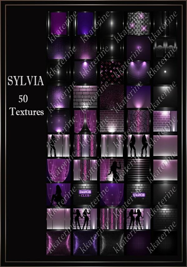 SYLVIA~ 50 Textures 256x256