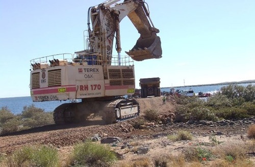 TEREX RH170 Hydraulic Excavator Service Repair Manual