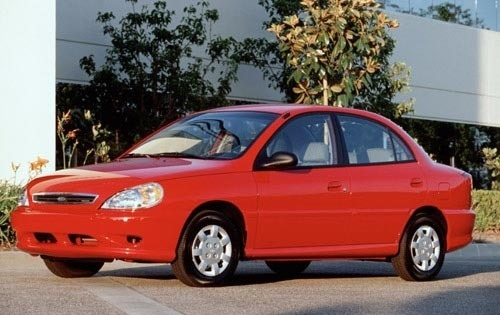KIA RIO 2002 Factory Service Workshop repair manual