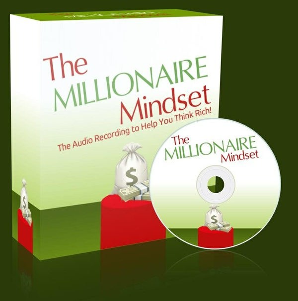 Think Rich: The Millionaire Mindset Self Help Audio Recording