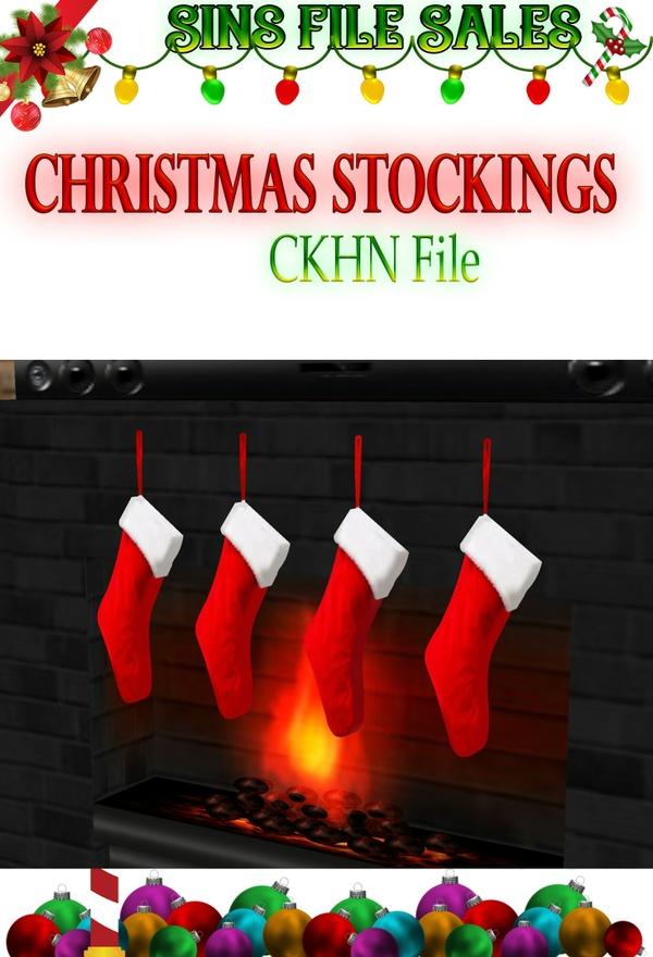 Christmas Stocking Set *CHKN File