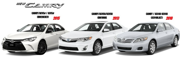 TOYOTA CAMRY 2010/2013/2015 GSIC WORKSHOP MANUAL