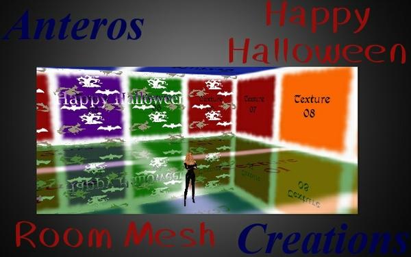 Room Mesh -- Happy Halloween