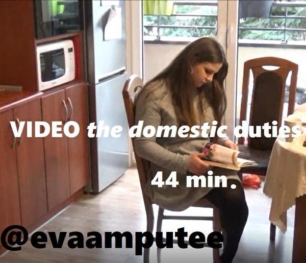 DOMESTIC DUTIES VIDEO 44 min.