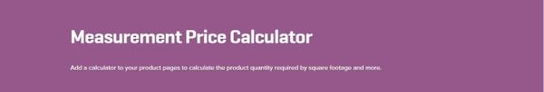 WooCommerce Measurement Price Calculator 3.12.1 Extension