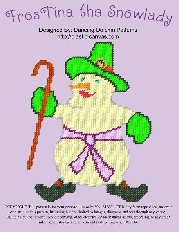 614 - FrosTina the Snowlady