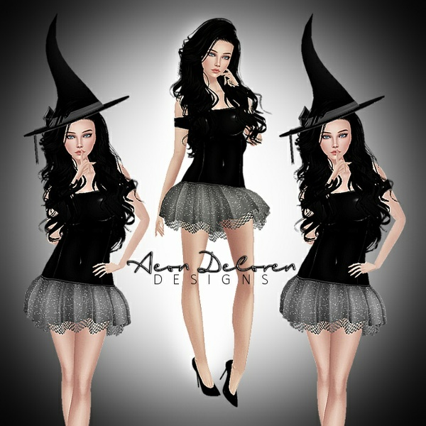 Bella Witch Bundle RESALE PSD PHOTOSHOP IMVU