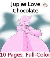 Comic - Jupies Love Chocolate