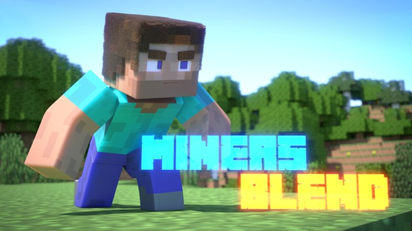 The Official MinersBlend Minecraft Rig! [Blender]