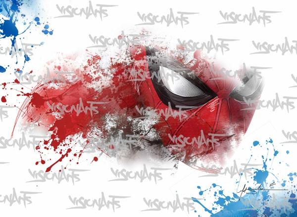 Spider Man Art Poster
