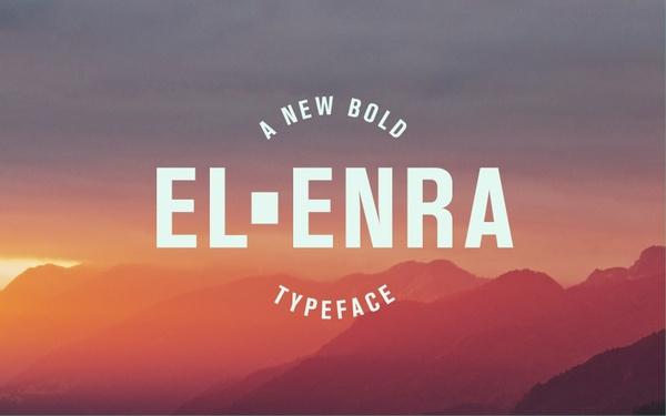 El Enra Typeface