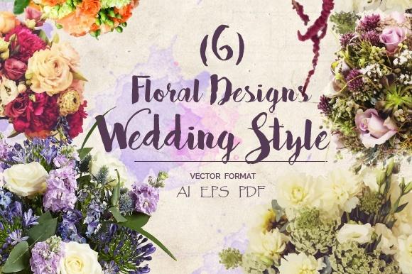 Floral Wedding style Vol.1