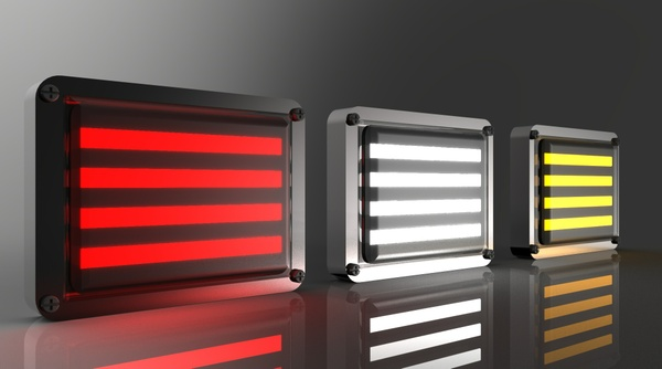 New Led Tail Lights 3D Model
