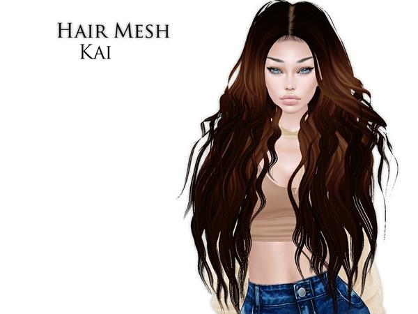 IMVU Mesh - Hair - Kai