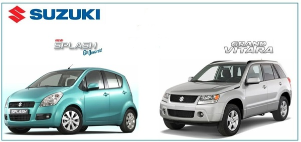 Suzuki Grand Vitara & Splash Workshop Manuals.