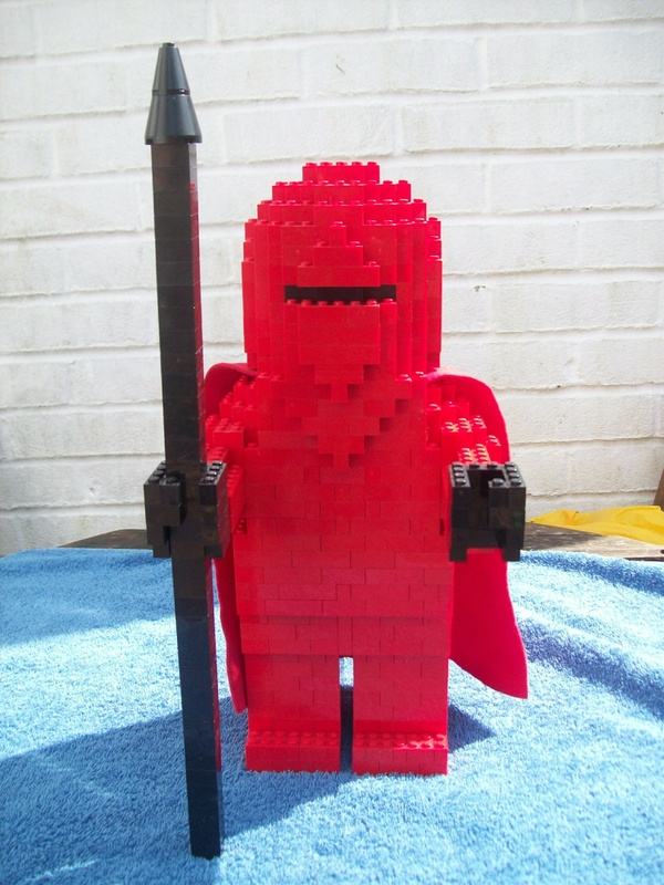 Instructions for Large Lego Star Wars Return of the Jedi Royal Guard
