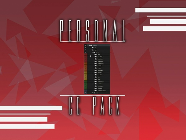 Personal Cc pack