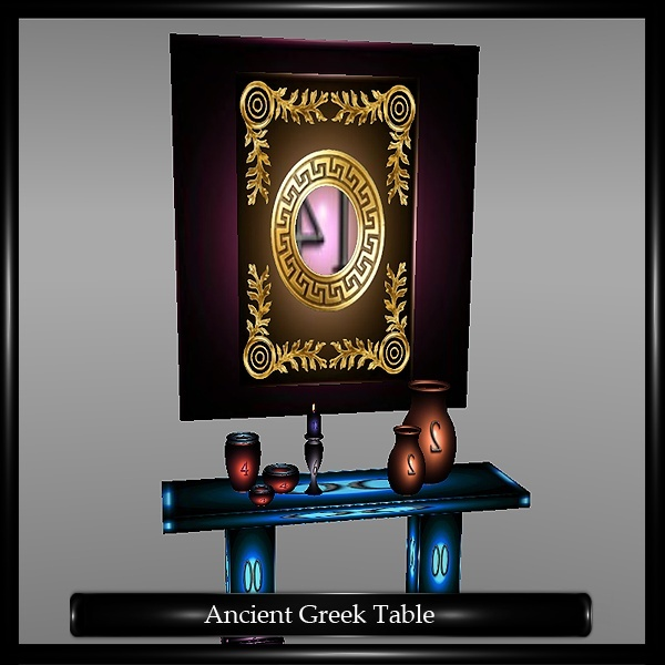 ANCIENT GREEK WALL TABLE