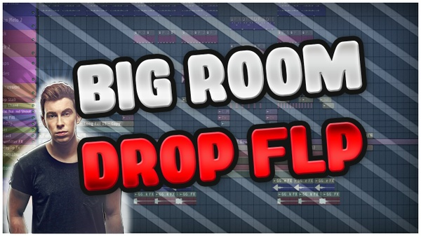 Revealed Recordings, Hardwell, KEVU Big Room Drop FLP