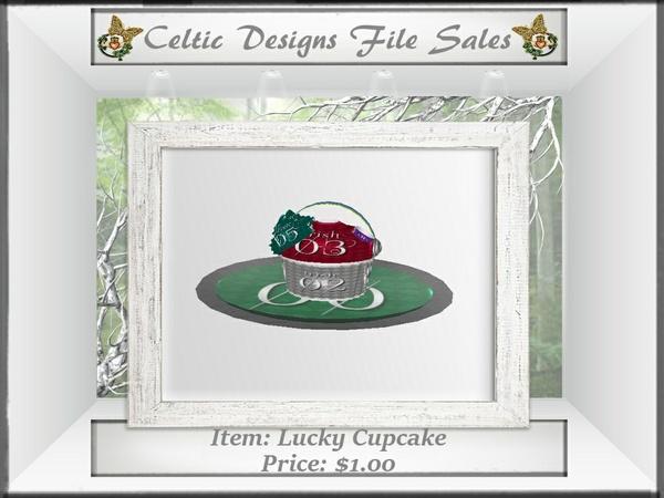 CD Lucky Cupcake