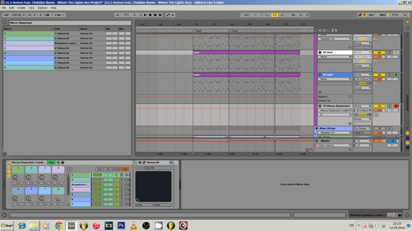 Ableton Live Project Sounds Like - Tiesto DubVision Martin Garrix Alesso Avicii Dannic 17 9