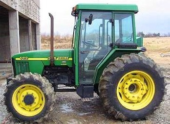 John Deere 5310, 5410 and 5510 Tractors Diagnosis and Tests Service Manual (tm4767)