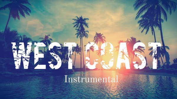 West Coast Rap Beat Hip Hop Instrumental