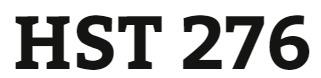 HST 276 Entire Course