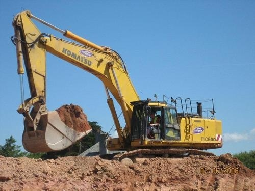KOMATSU PC600-6, PC600LC-6 HYDRAULIC EXCAVATOR SERVICE REPAIR MANUAL + FIELD ASSEMBLY MANUAL