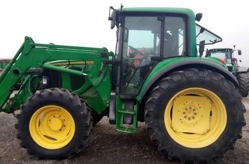 John Deere 6120, 6220, 6320, 6420, 6120L, 6220L, 6320L, 6420L, 6520L Tractors Repair Manual (tm4647)