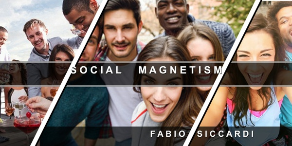 WARNING! ★SUPER SOCIAL MAGNET ★Become more famous! For Men