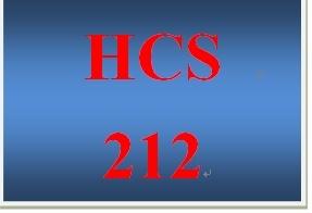 HCS 212 Week 3 Health Care Terms Worksheet