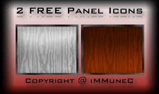 2 FREE Panel Catalog Icons Created by iMMuneC