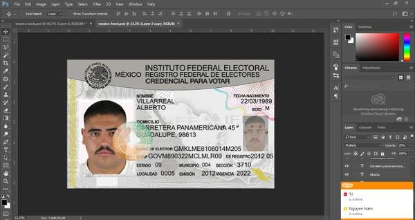 MEXICO ID