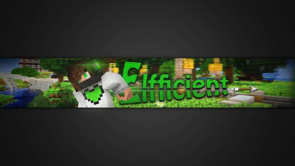 3D Minecraft Banner