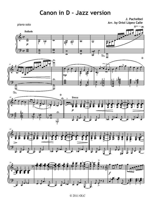 Piano jazz piano sheet music for beginners : My Sheet Music Transcriptions - Page 6 - Sellfy.com