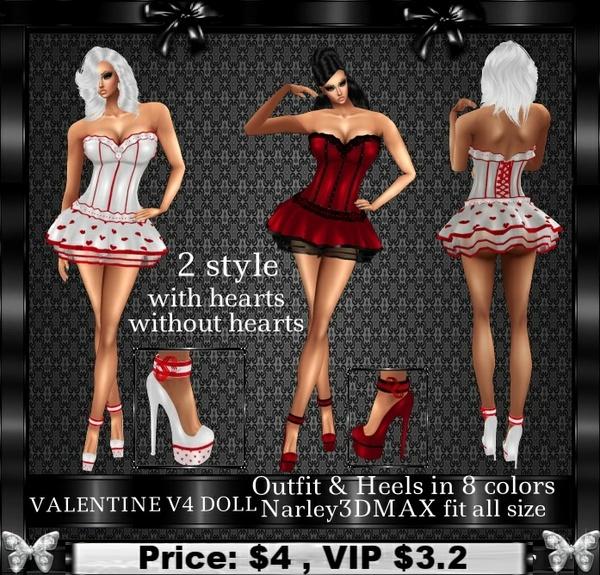 VALENTINE V4 DOLL