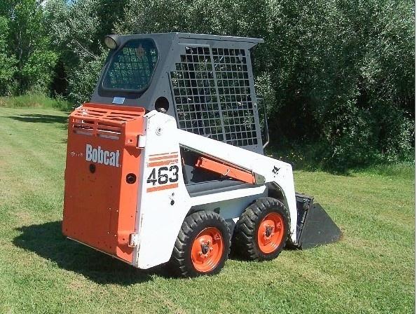 Bobcat 463 Skid Steer Loader Service Repair Manual DOWNLOAD( S/N 538911001, 539011001 & Above )