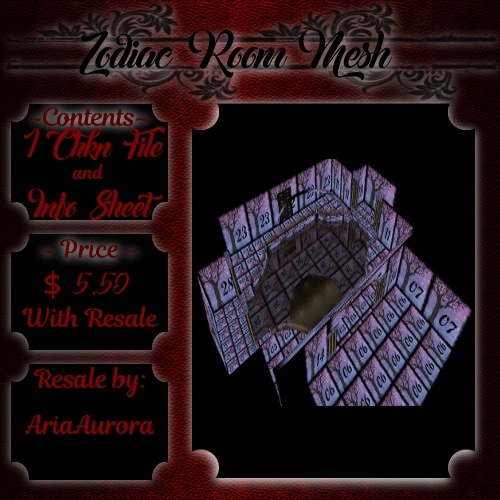 Room Mesh -- Zodiac (ReSale)