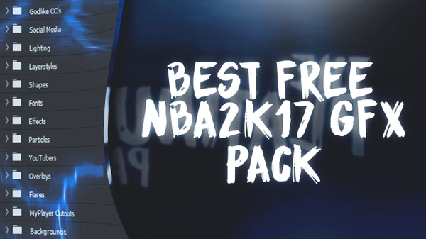 NBA2K17 FREE GFX PACK!! (THE BEST FREE GFX PACK)😱 (THE PLATINUM PACK)