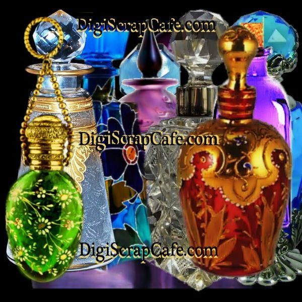 Designer Glass Bottles