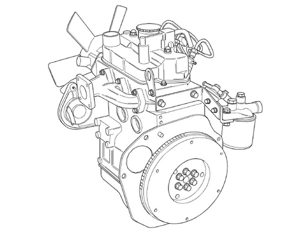 Perkins 100 Series Diesel Engines Workshop Manual