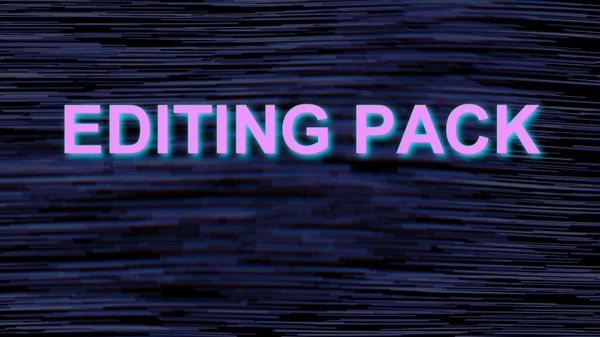 My Editing pack!!