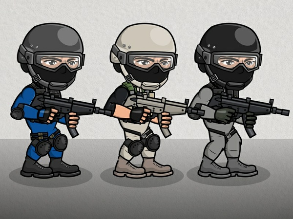 Police SWAT Officer