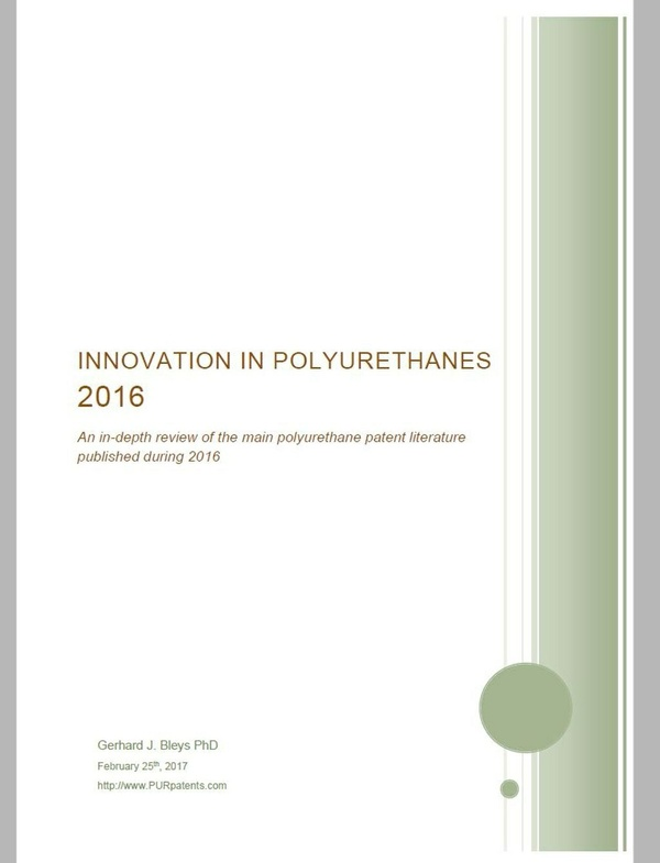 Innovation in Polyurethanes 2016.