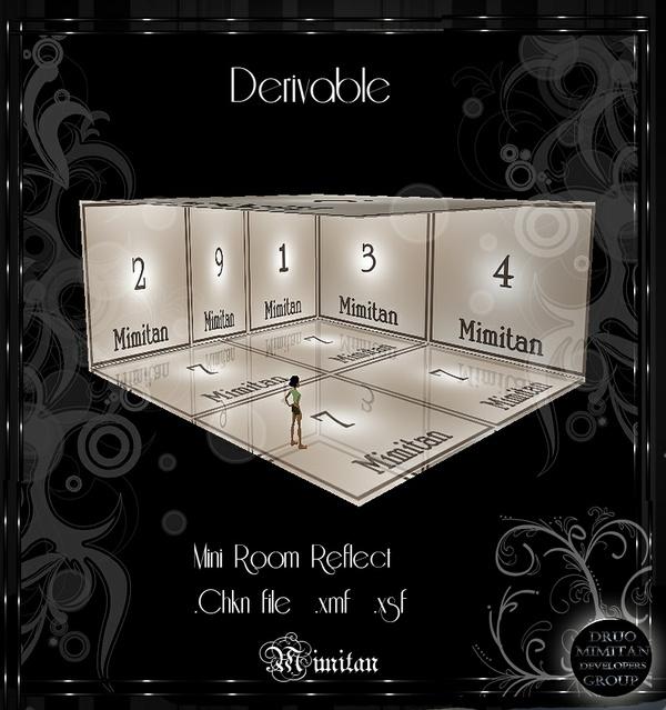Derivable Mini Room Reflect