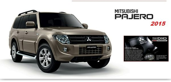 Mitsubishi Pajero 2015 Workshop Manual