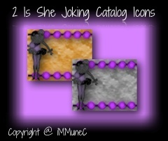 2 Is She Joking Catalog Icons