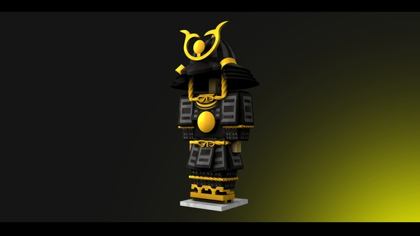 Minecraft - Rig Samurai - [Cinema 4D]